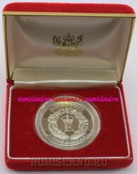 Новая Зеландия 1 доллар 1986 PROOF Royal Visit
