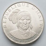 Гаити 10 гурд 1971 PROOF Osceola Seminole